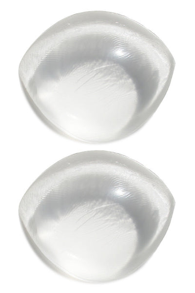 Boobles - Full-cup Clear Round Silicone Bra Inserts - PaddedPanties.com  - 3