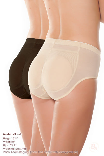 Insta-Booty 5-Piece Padded Panty Value Set - PaddedPanties.com  - 1