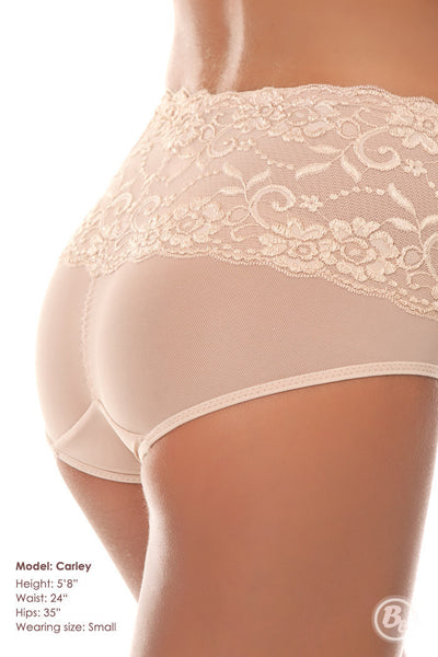 Body By Bubbles - Lace Waist Midrise Panty - PaddedPanties.com  - 5