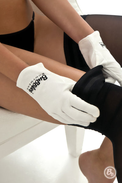 Hosiery Gloves - No More Runs!