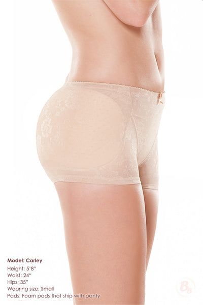 Bombshell Hip-to-Butt Padded Boyshort - PaddedPanties.com  - 5
