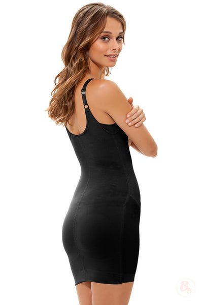 Danger! Curves Behind® Padded Full-Slip with Adjustable Straps - PaddedPanties.com  - 1
