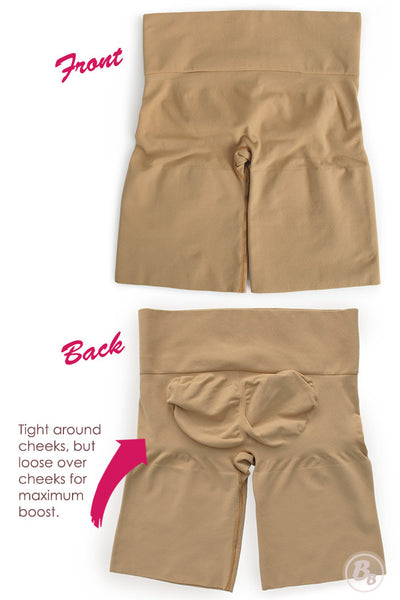 Bunhuggers Seamless Butt-Lift Girlshorts