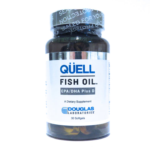 Qüell Fish Oil (EPA/DHA Plus D)