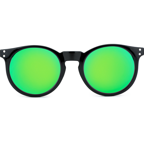 Moon Shine Black - Bright Green