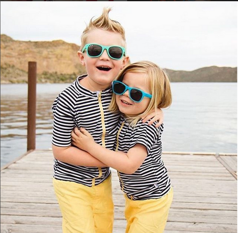 1aa0dc289c1f ...and bonus item, of course unbreakable toddler sunglasses from ro·sham·bo  baby, like these teal kids' wayfarer sunglasses (pictured)!