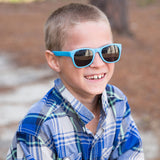 zack morris blue junior shades - ro•sham•bo baby sunglasses