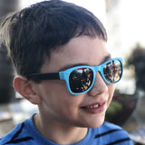 thundercat black & teal junior shades