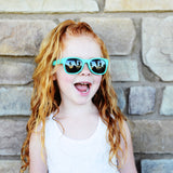 goonies mint junior shades - ro•sham•bo baby sunglasses