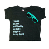 mo' $ mo' problems baby shirt - ro•sham•bo baby - sunglasses - kids sunglasses - baby sunglasses - 1