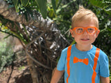 Blippi Orange Toddler Transition Glasses