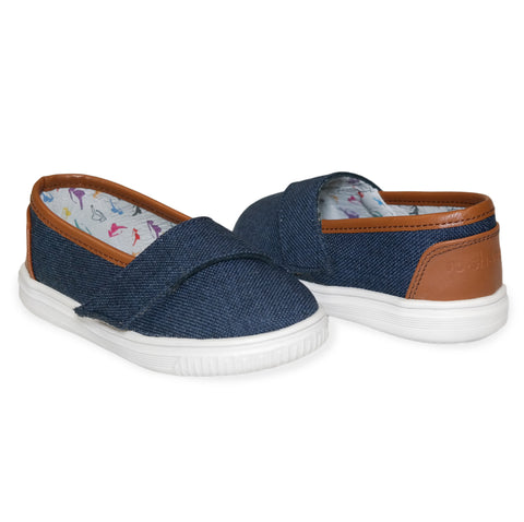 "Denim ""Baby Steps"" Shoes - ro•sham•bo baby sunglasses"