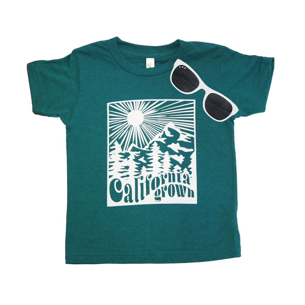 California Grown & White Shades Gift Set (Toddler) - ro•sham•bo baby sunglasses