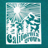 california grown toddler shirt - ro•sham•bo baby sunglasses