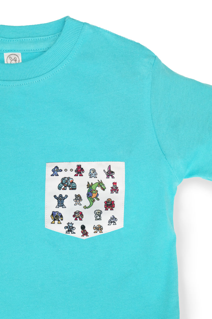 KIDS 8-BIT MEGA POCKET TEE