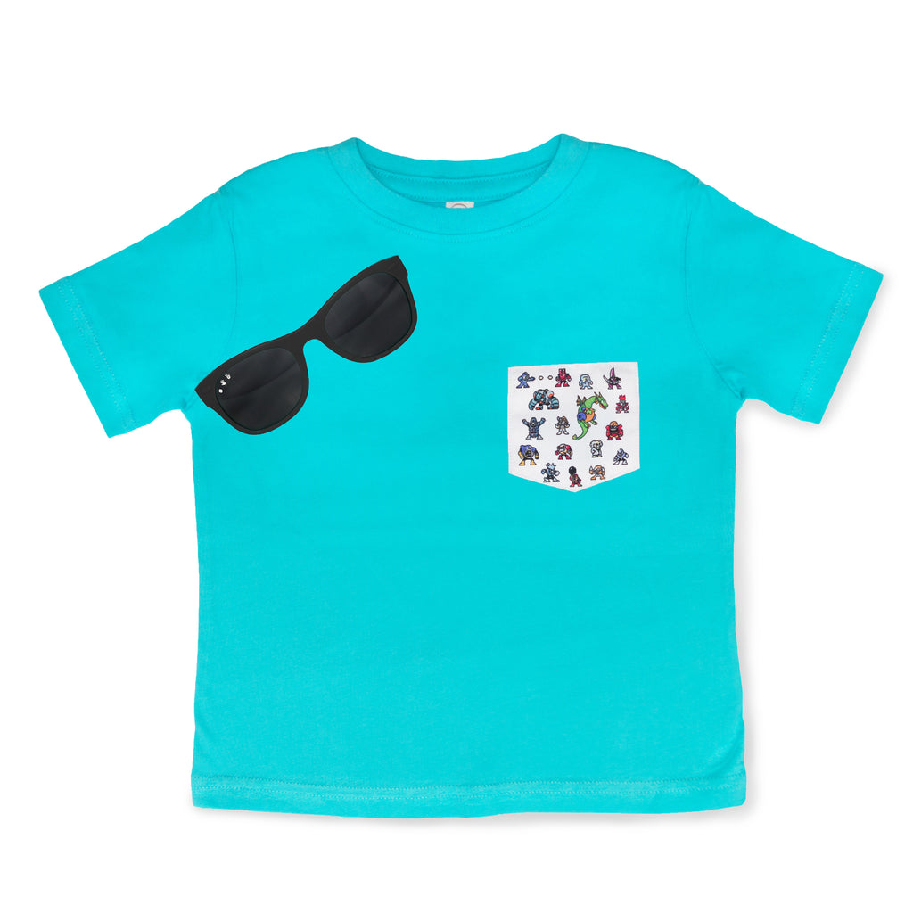 8-BIT Dr. Wily & Black Shades Gift Set (Toddler) - ro•sham•bo baby sunglasses