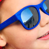 milhouse royal blue junior shades