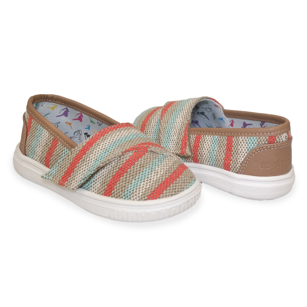 "Striped ""Baby Steps"" Shoes"