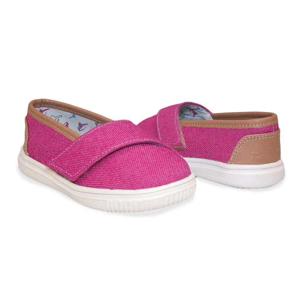 "Fuchsia ""Baby Steps"" Shoes"