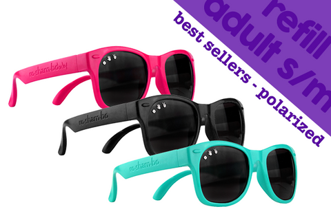 ADULT S/M | 6-Pack of Best Sellers w/ Polarized Lens - ro•sham•bo baby sunglasses