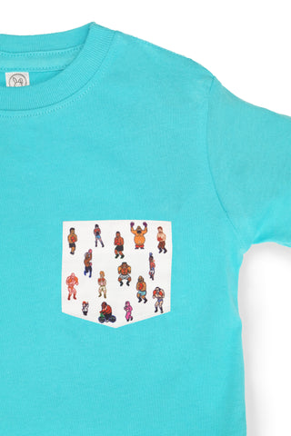 KIDS 8-BIT LITTLE MAC POCKET TEE