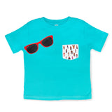8-BIT LITTLE MAC & red shades Gift Set (Toddler) - ro•sham•bo baby sunglasses