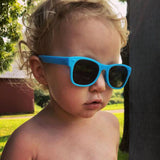 zack morris blue baby shades