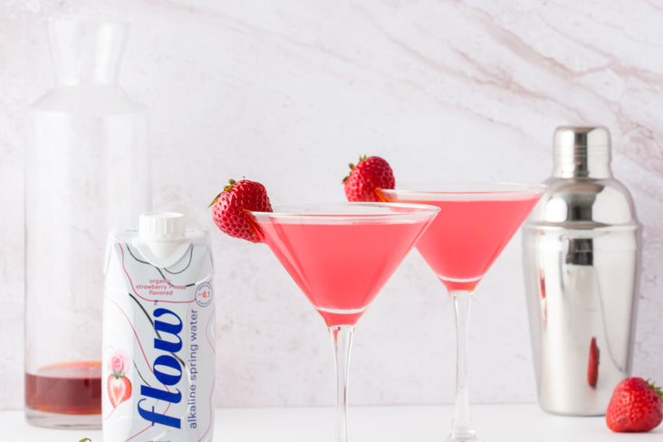 Strawberry + Rose Cosmopolitan Recipe