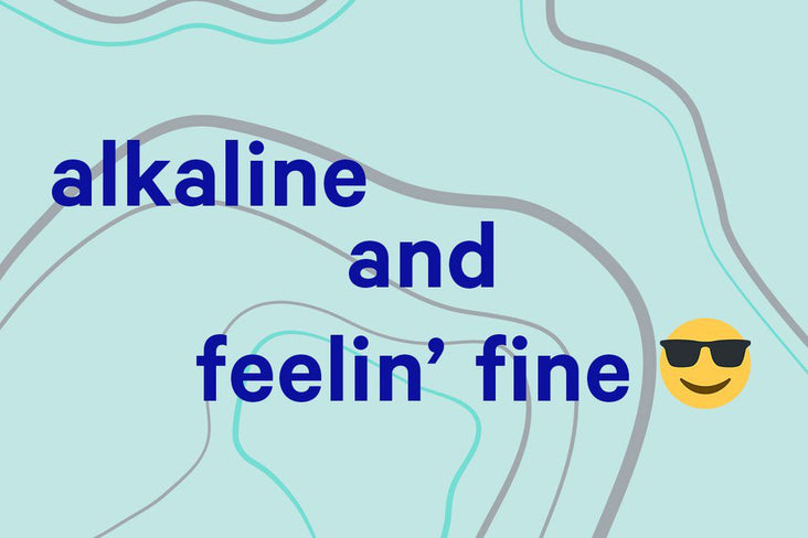 What does 'alkaline' mean, anyway?