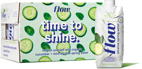 12x500ml Cucumber+Mint