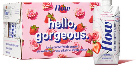 12x500ml Strawberry+Rose