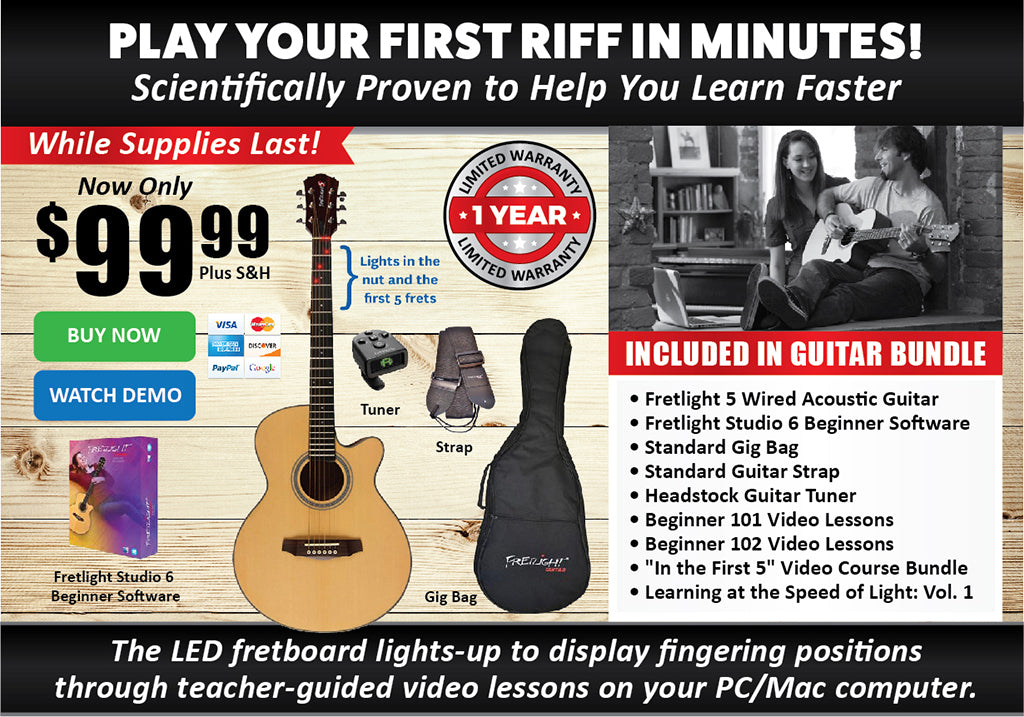 Fretlight 5 Bundle