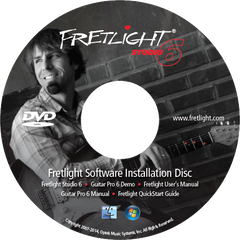 Fretlight Studio 6 Software Installation Disk (Intermediate/Advance)