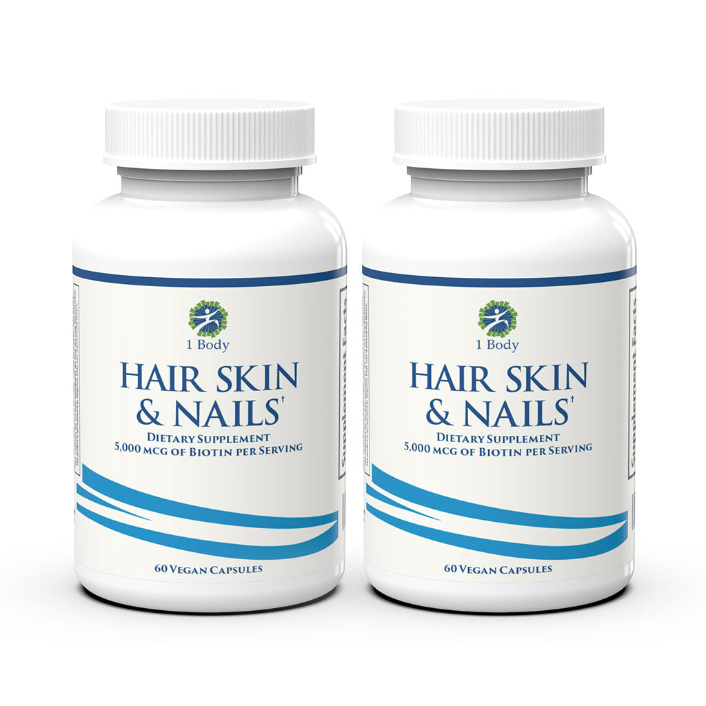 Hair, Skin & Nails ~ 2X Bundle