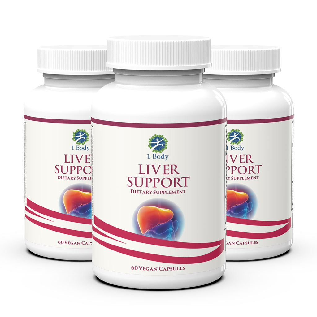 3 Bottles of ~ Liver Support ~ 33% OFF