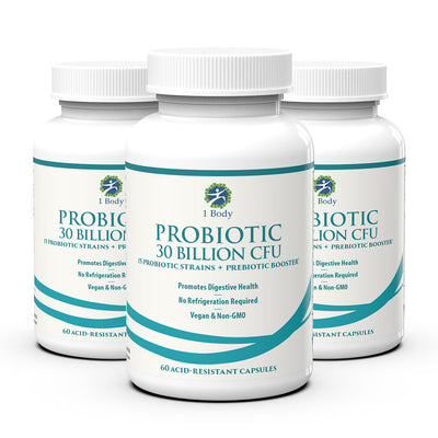 Probiotic - 30 Billion CFU - 3x Bundle - 33% OFF