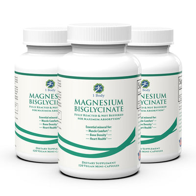 Magnesium Bisglycinate - 3X Bundle
