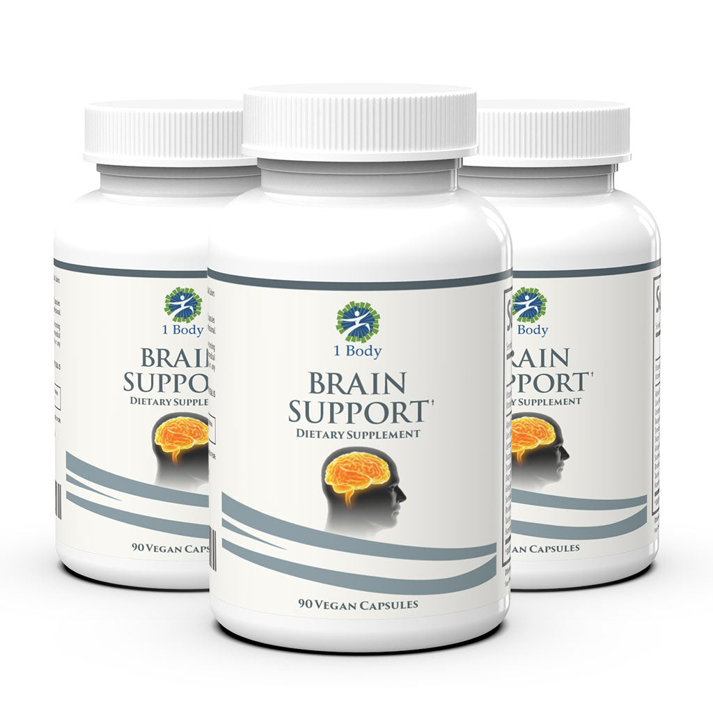 3 Bottles of ~ Brain Support - 33% OFF