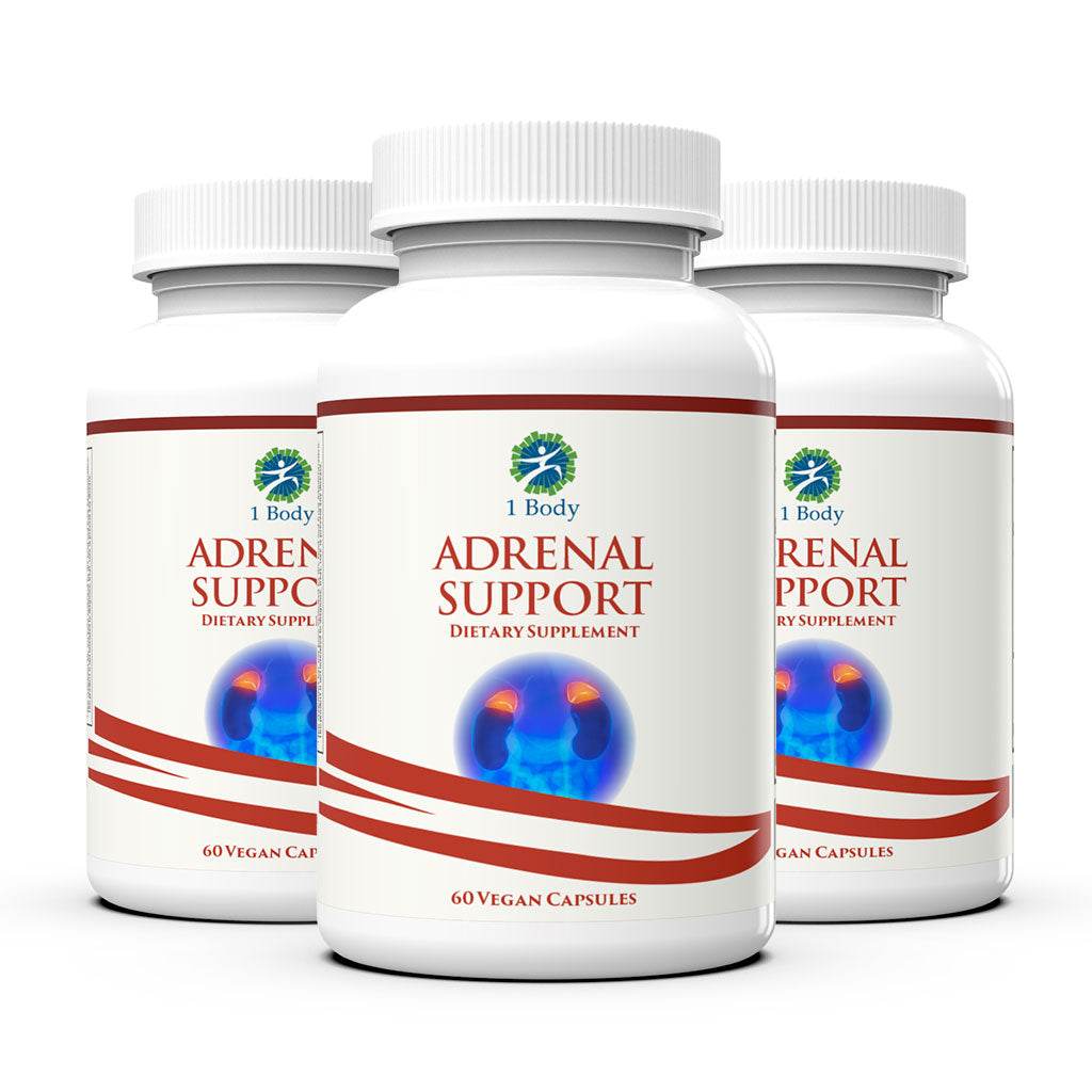 3 Bottles of ~ Adrenal Support - 33% OFF