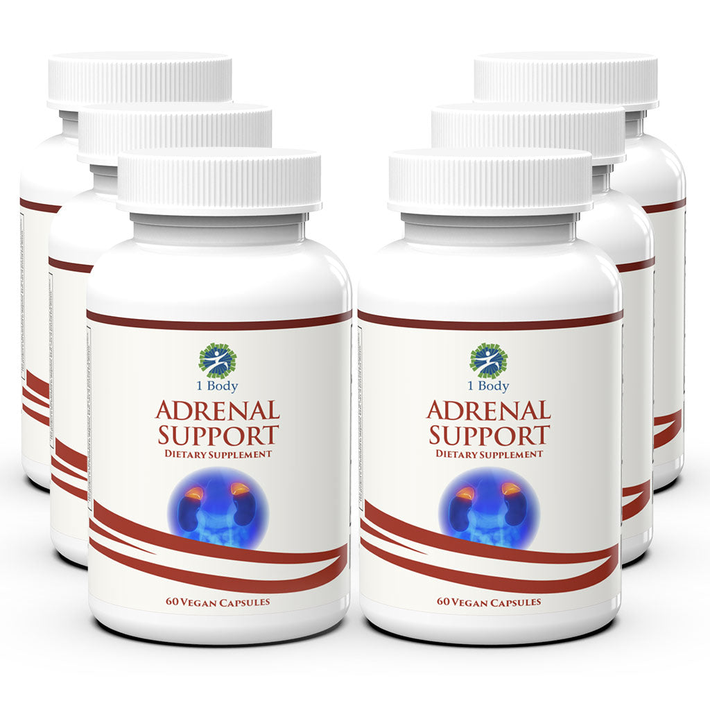 Adrenal Support - 6X Bundle