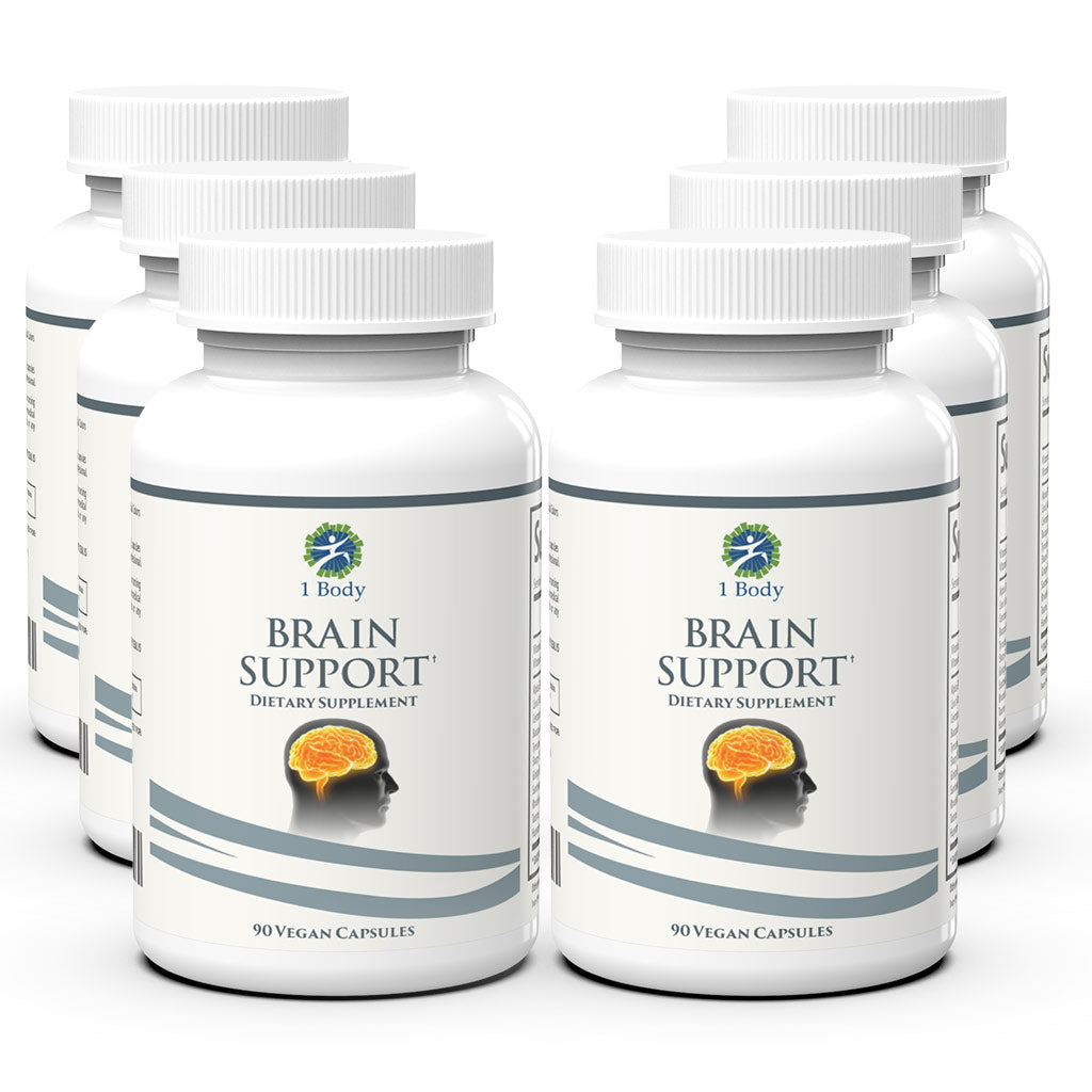 Brain Support - 6X Bundle