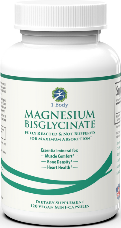 Magnesium Bisglycinate - 6X Bundle
