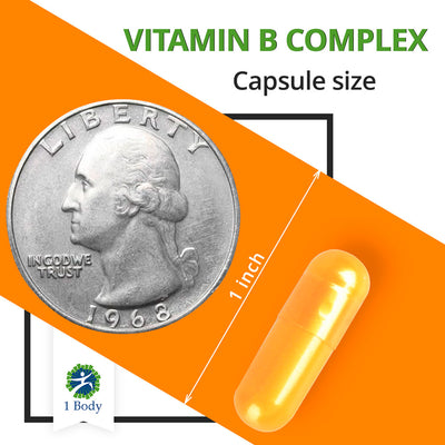 Vitamin B Complex ~ 6X bundle