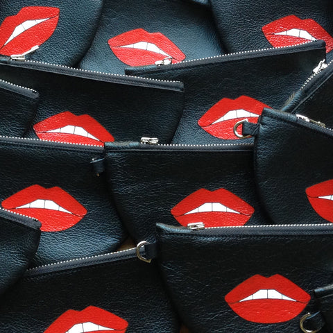 Red Lips Pouch