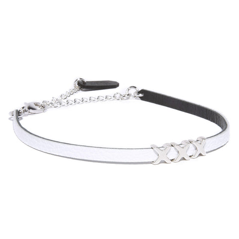 xxx, choker, bondage, white leather choker, valentine's day, perfect gift, girlfriend, wife, choker