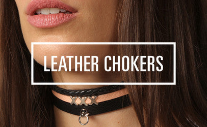 The Leather Atelier Leather Chokers