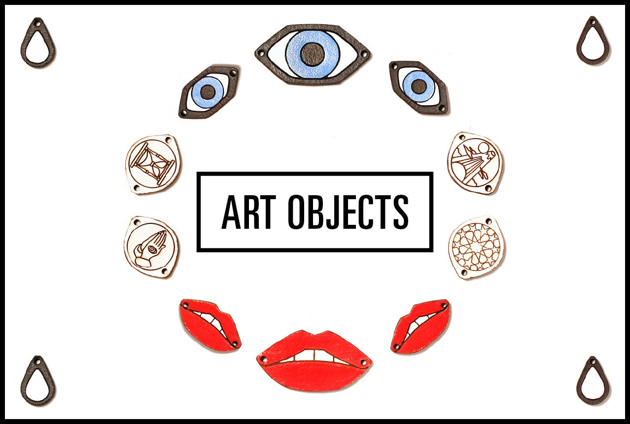 The Leather Atelier Art Objects