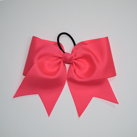 The Essential Neon Pink Bow