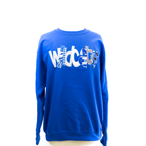 Dancing Wildcats Fleece Sweatshirt
