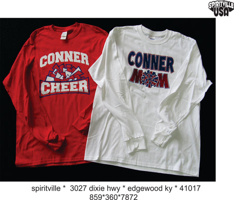 CONNER CHEER AND CHEER MOM